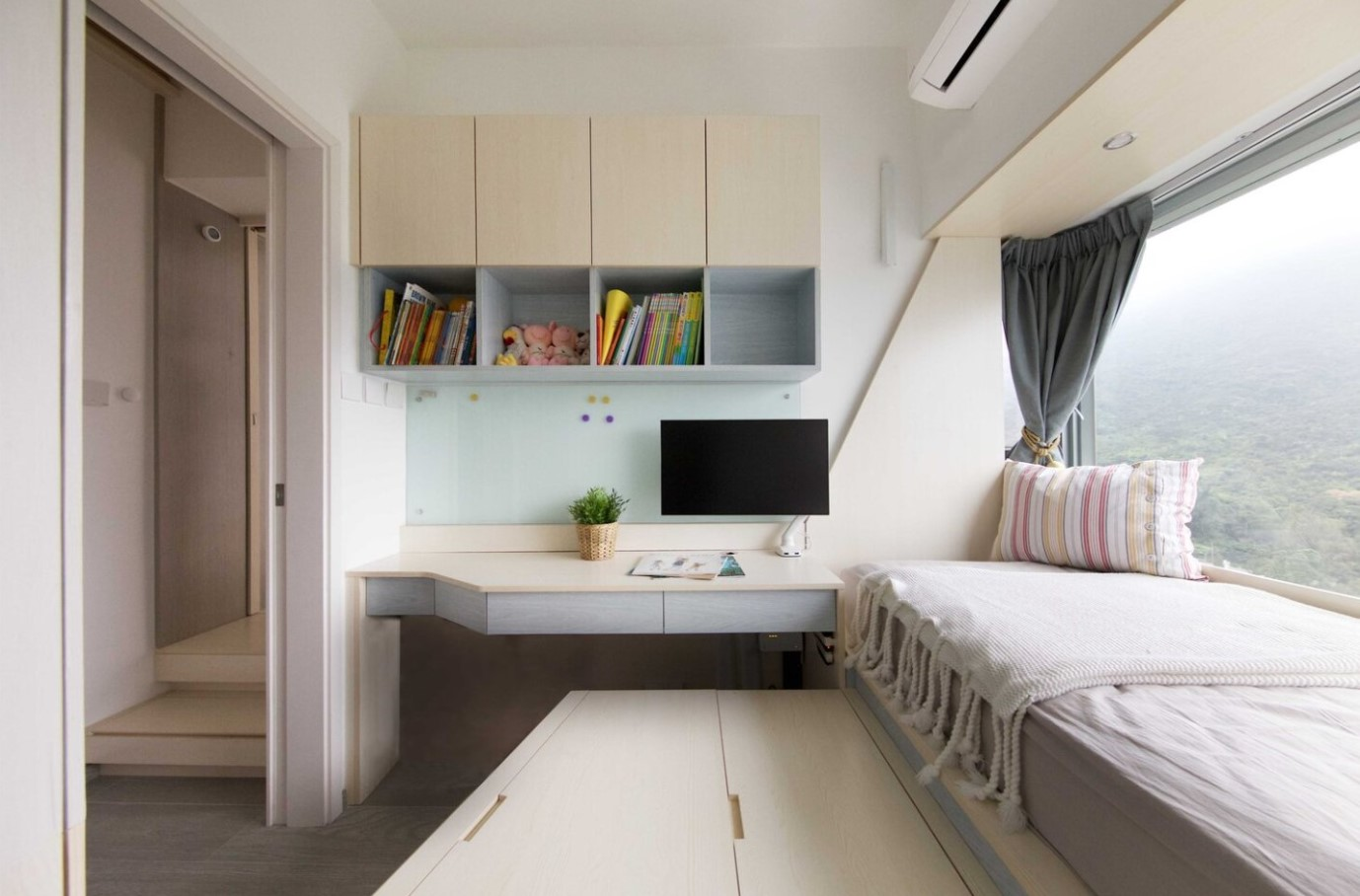 Smart Zendo, projekt Smart Zendo, oszczędzanie miejsca, dom w mieszkaniu