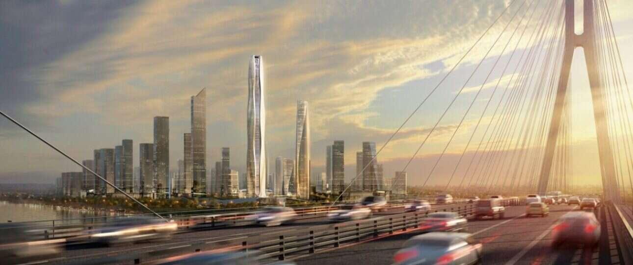 Ten wysoki wieżowiec zachwyci każdego inżyniera i projektanta swoją energooszczędnością