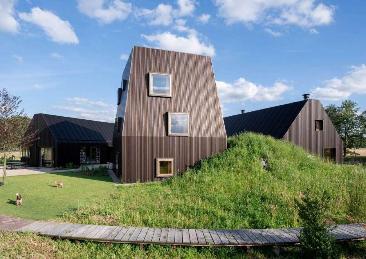 holenderskie domy Mecanoo, nowoczesne holenderskie stodoły, stodoły Mecanoo