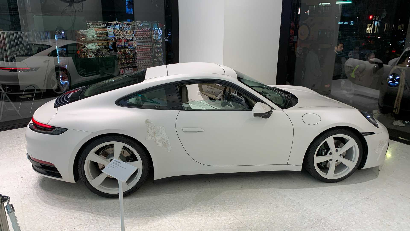 erodujące Porsche 911, unikalne Porsche 911, kryształowe Porsche 911