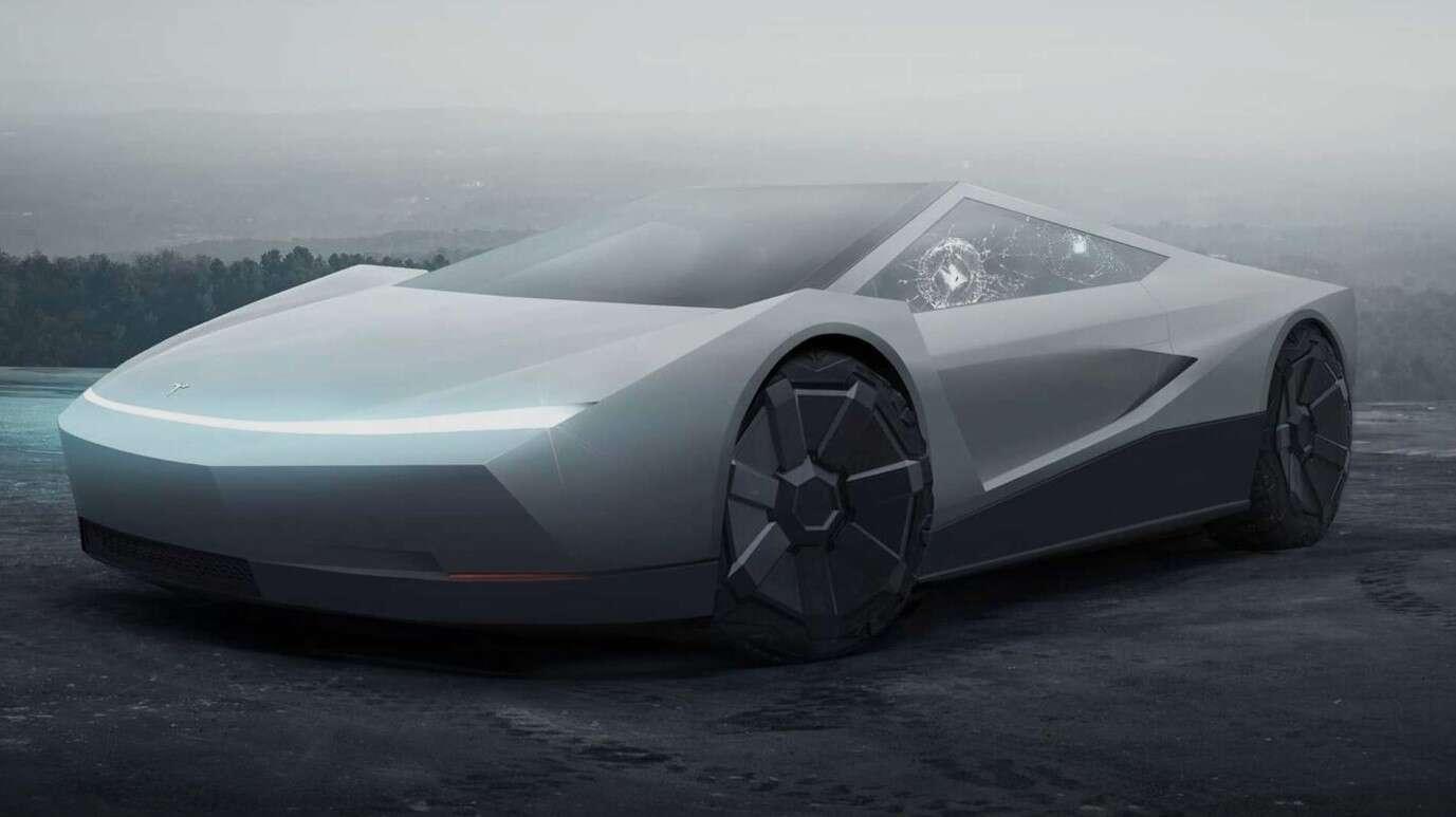 Tesla Roadster Cybertruck, roadster Cybertruck, Roadster Tesli,