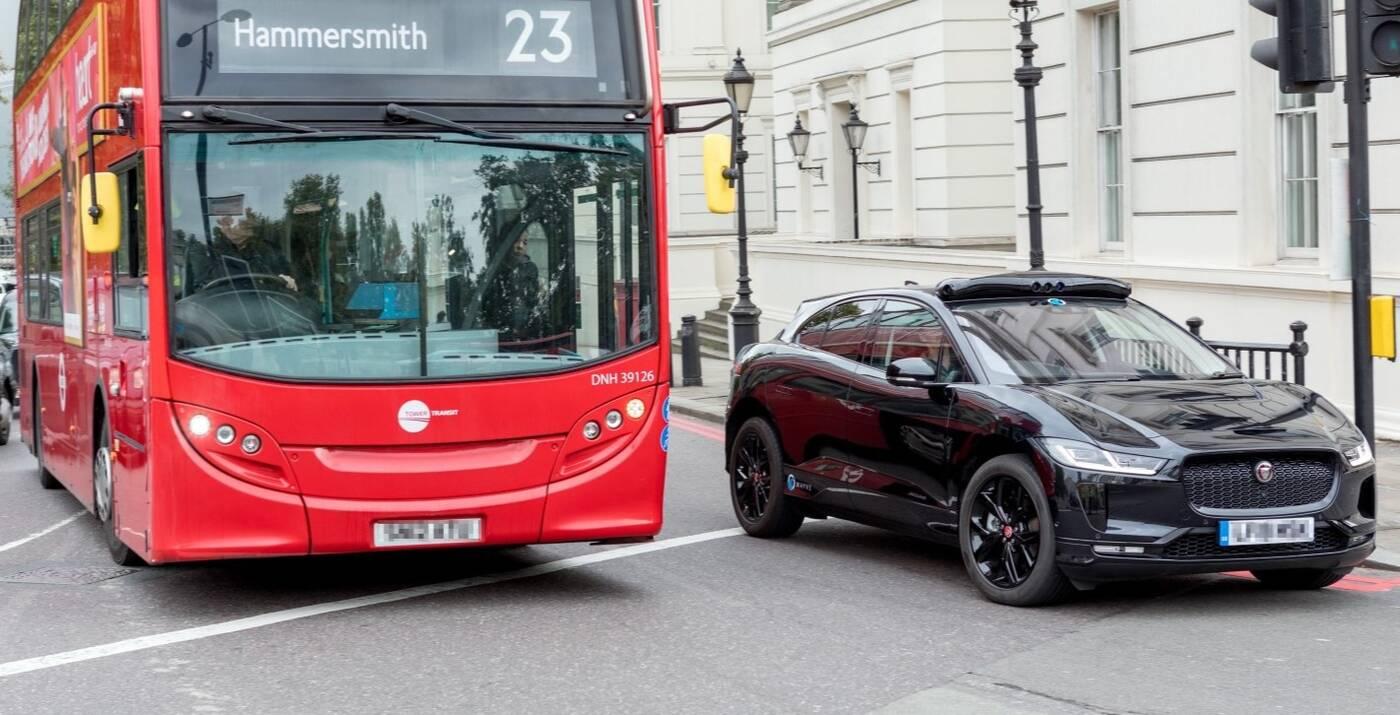 samochody Wayve, autonomiczne samochody Wayve, Wayve w Londynie