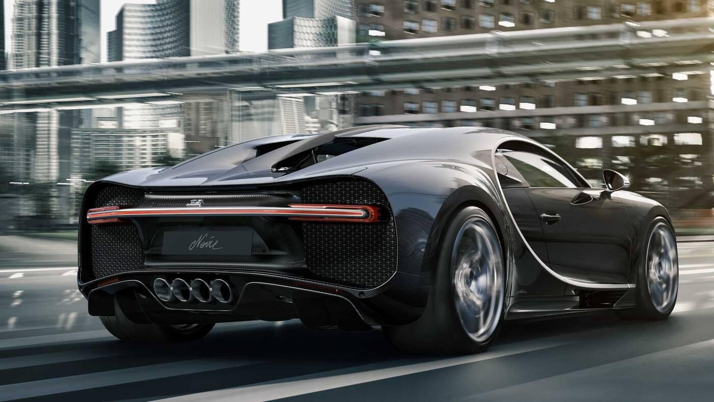 Chiron Noire Elegance, Chiron Noire Sportive, Bugatti Chiron Noire, wydania Bugatti