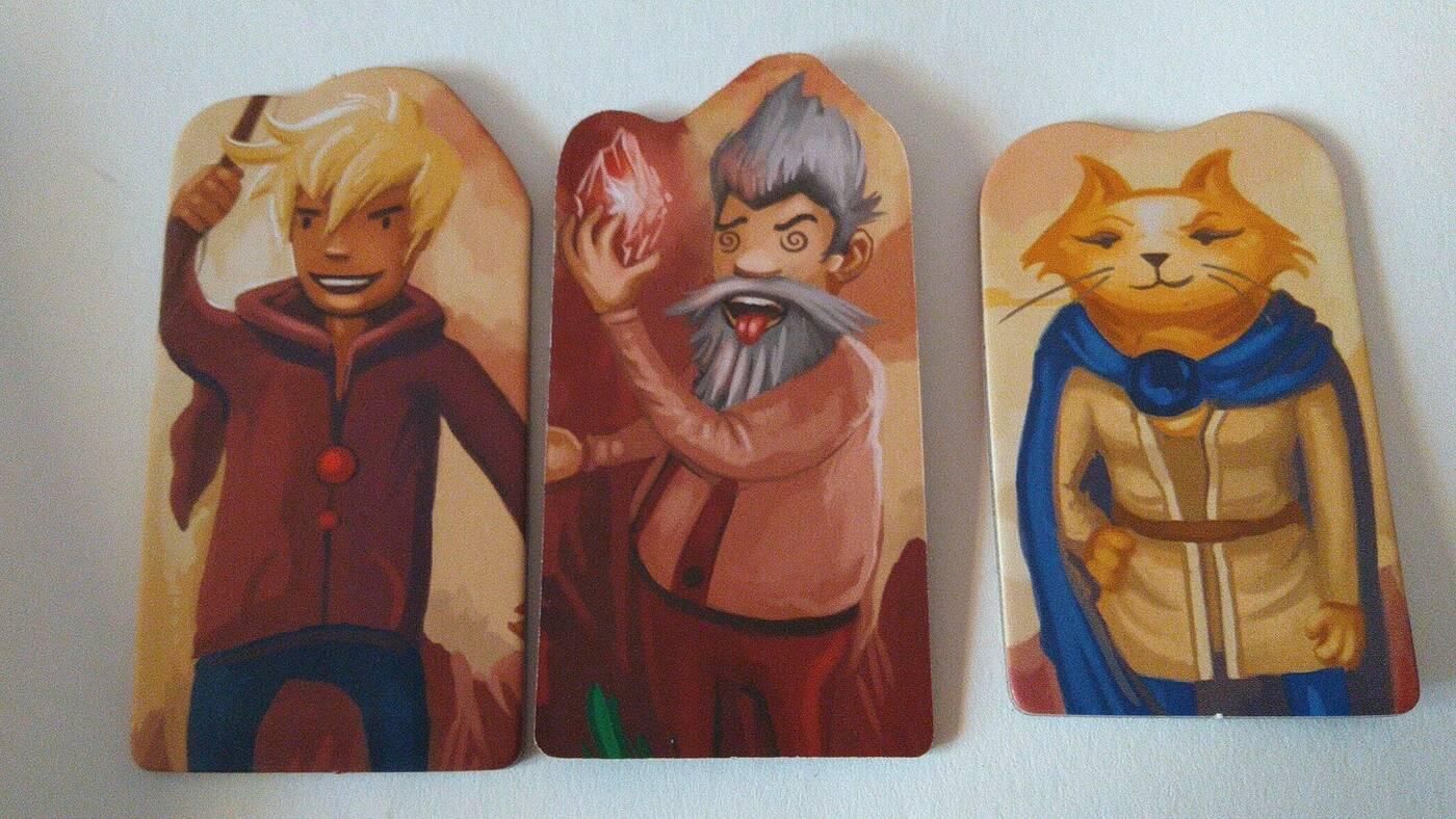 Megaland postacie