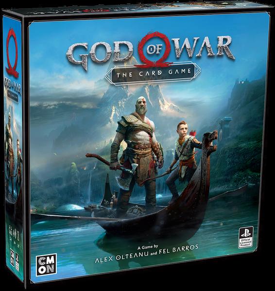 Recenzja gry karcianej God of War – The Card  Game