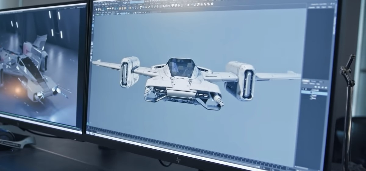 Tri-Wing S-91x Pegasus Starfighter, statek kosmiczny Porsche, Porsche i Lucasfilm, nowe Star Warsy
