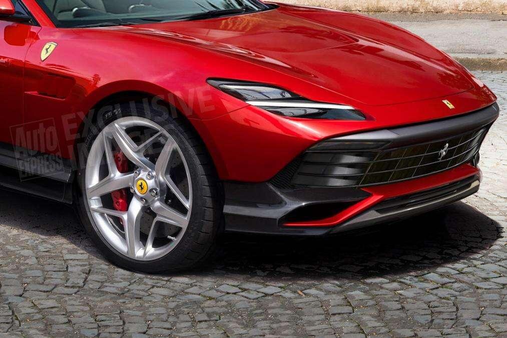 Czy to szalenie zamaskowany pierwszy SUV Ferrari?