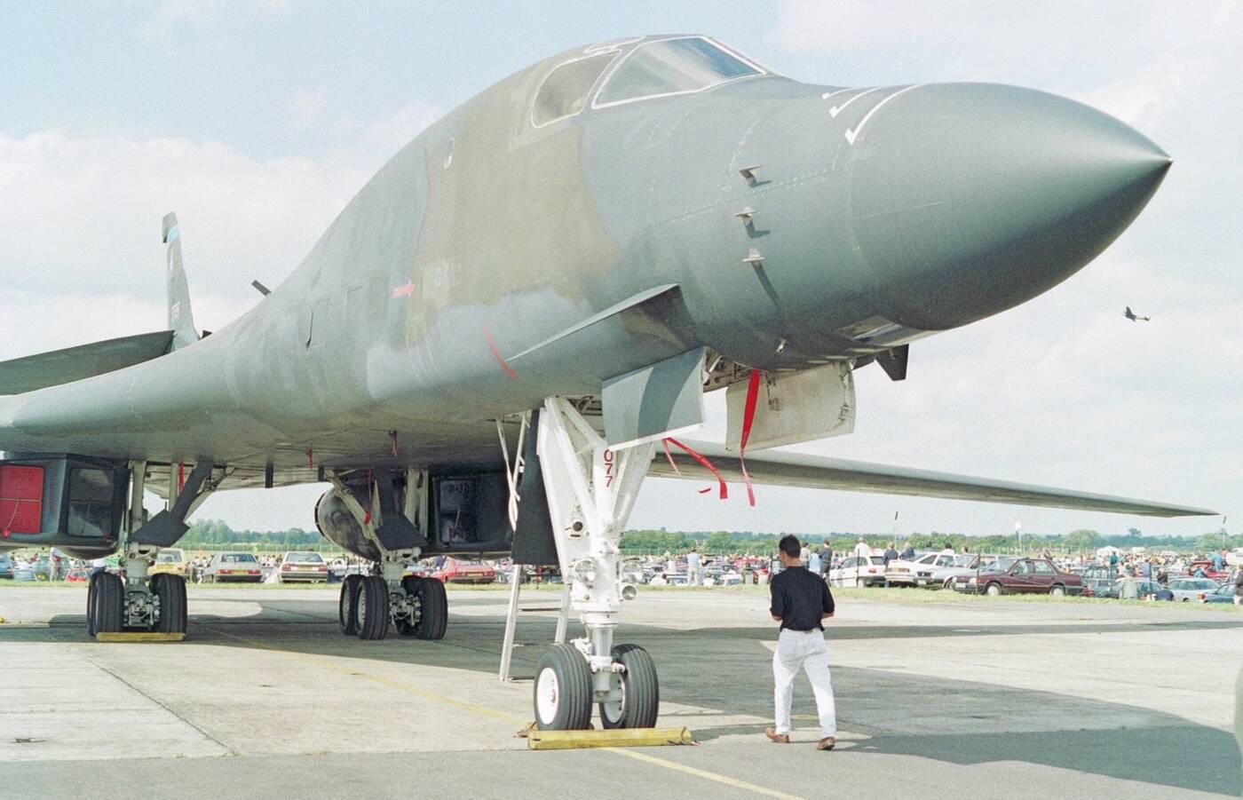 bombowce B-1B Lancer, B-1B Lancer, los B-1B Lancer, starzejące się bombowce