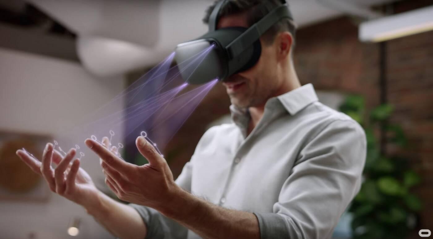 Sterowanie dłońmi w Oculus Quest – kolejny rozwój VR odrzuca kontrolery