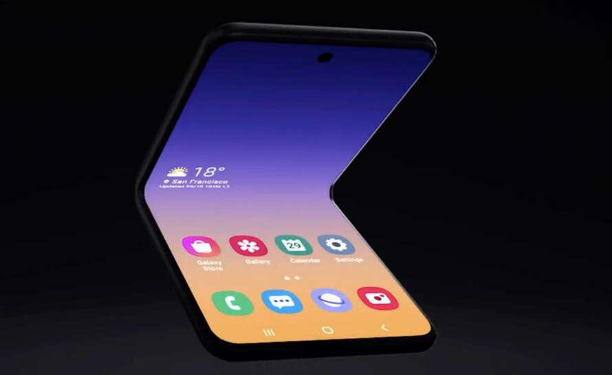Samsung Galaxy Z Flip z większą baterią i szkłem na ekranie