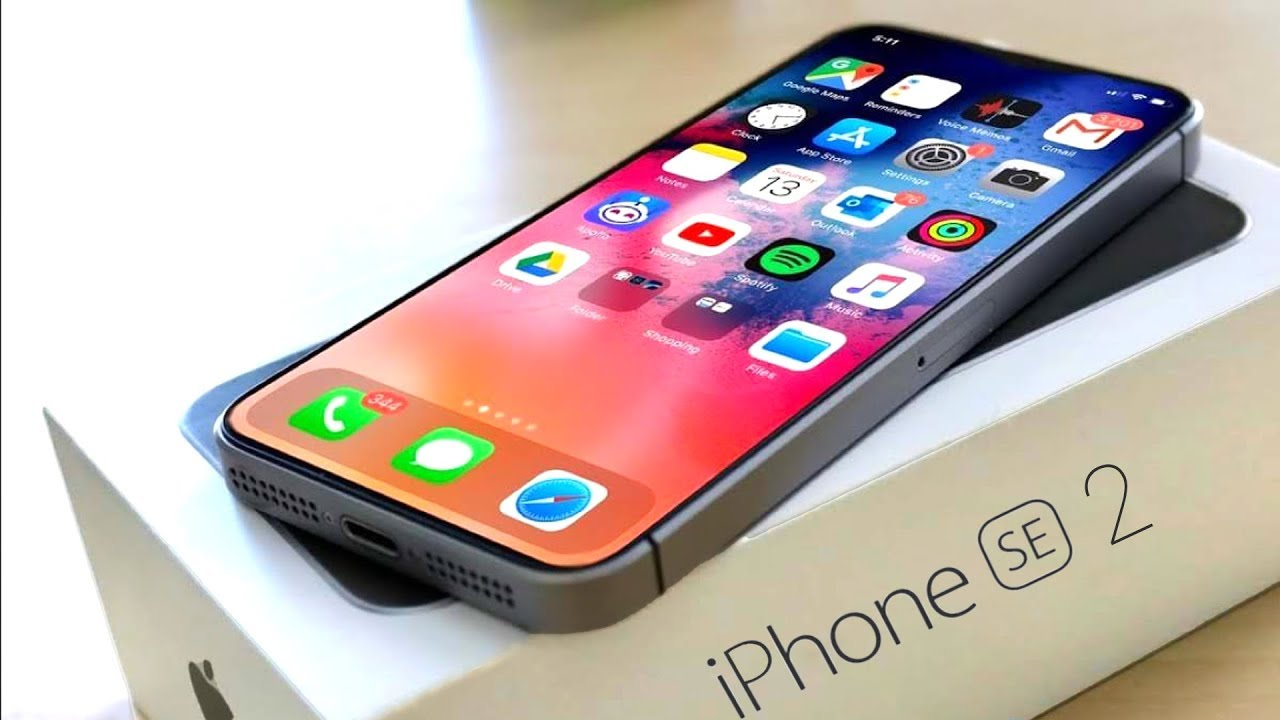 iPhone 2020 ekrany