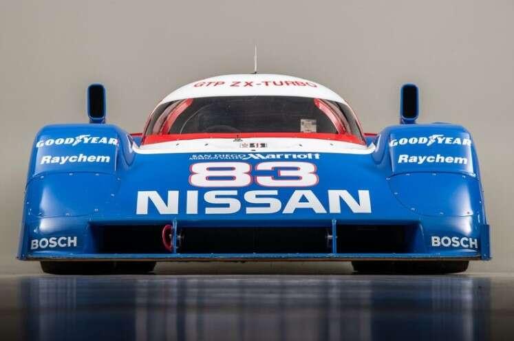 Nissan, NPT-90, wyścigowy Nissan, samochód wyścigowy Nissana