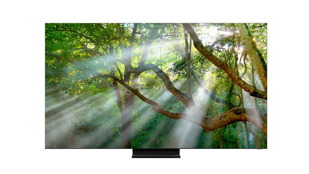 Samsung prezentuje telewizor bez ramki Q950