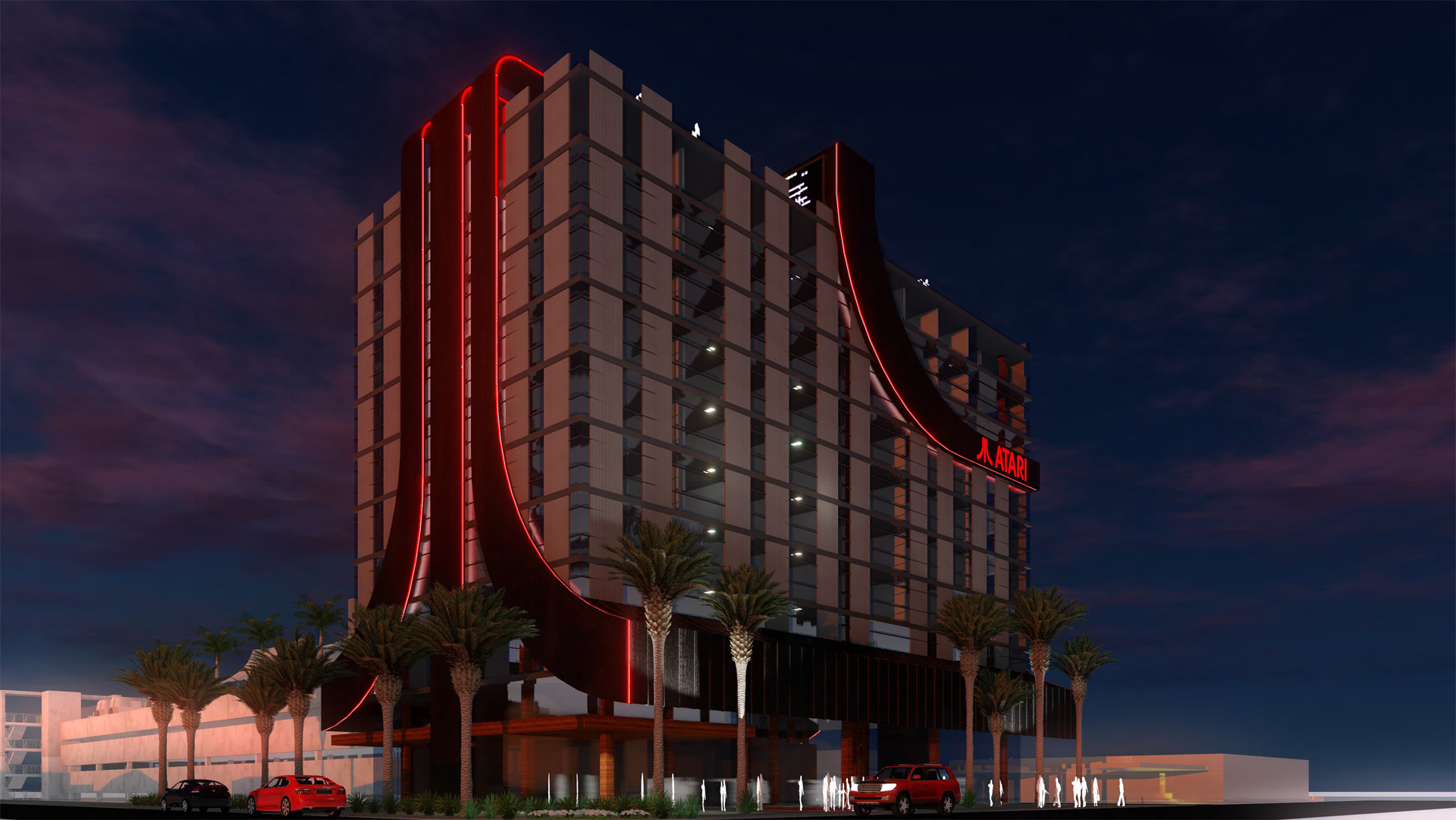 Atari chce zbudować sieć hoteli z grami VR
