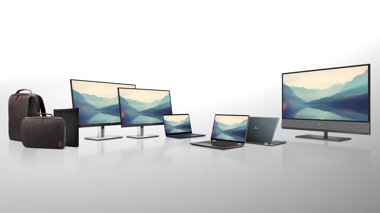 HP Spectre, Envy, Dragonfly i akcesoria z recyklingu, czyli HP na targach CES 2020