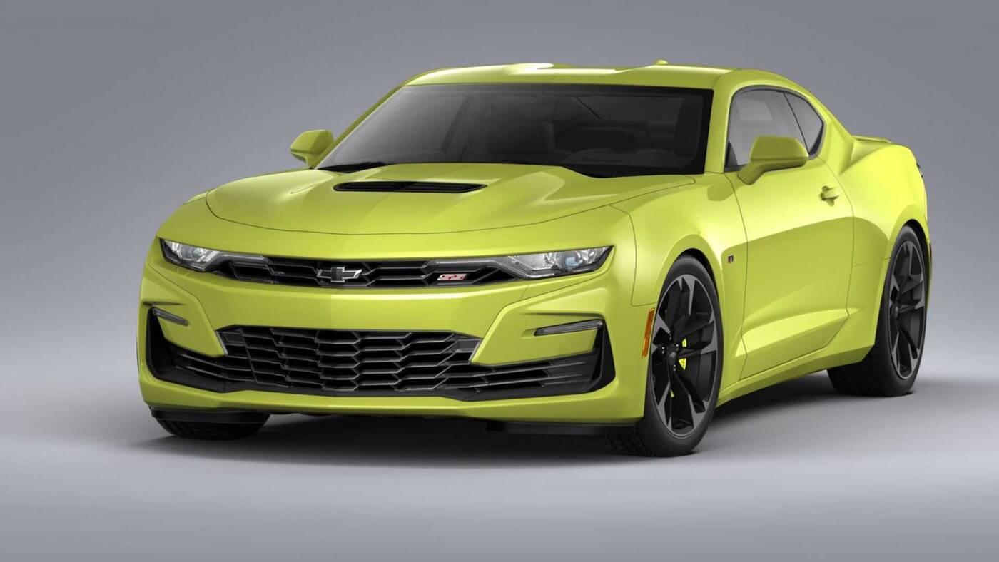 Chevrolet przypadkowo ujawnił pakiet Shock and Steel modelu Camaro 2020