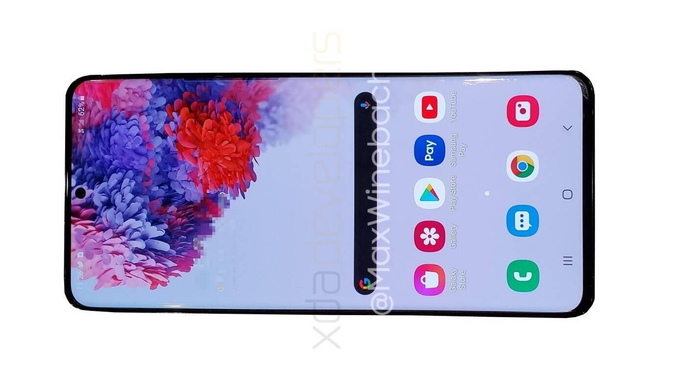 Samsung Galaxy S20+ 5G pierwsze zdjęcie