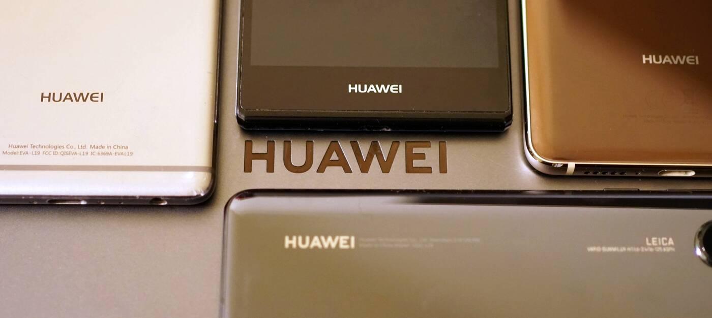 Huawei logo smartfony