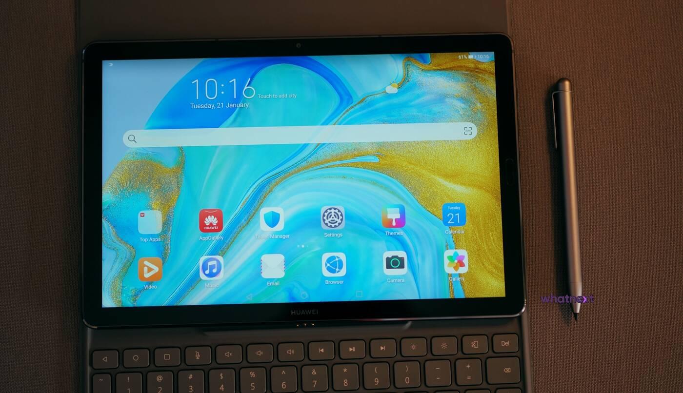 Huawei MediaPad M6 premiera