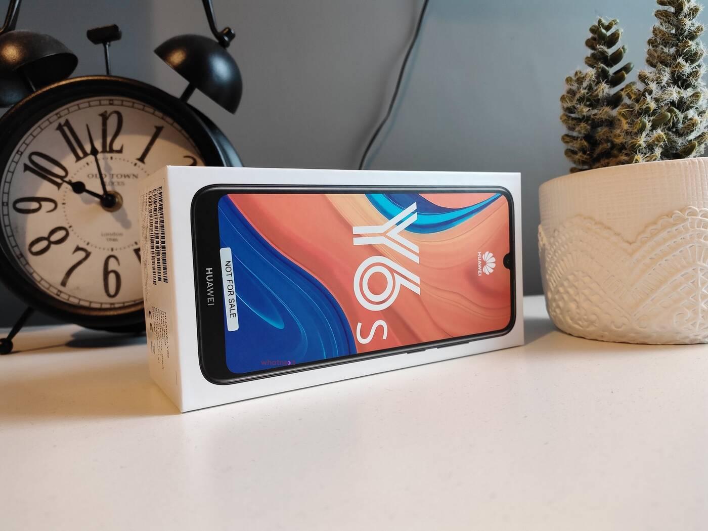 Test taniego smartfona Huawei Y6s