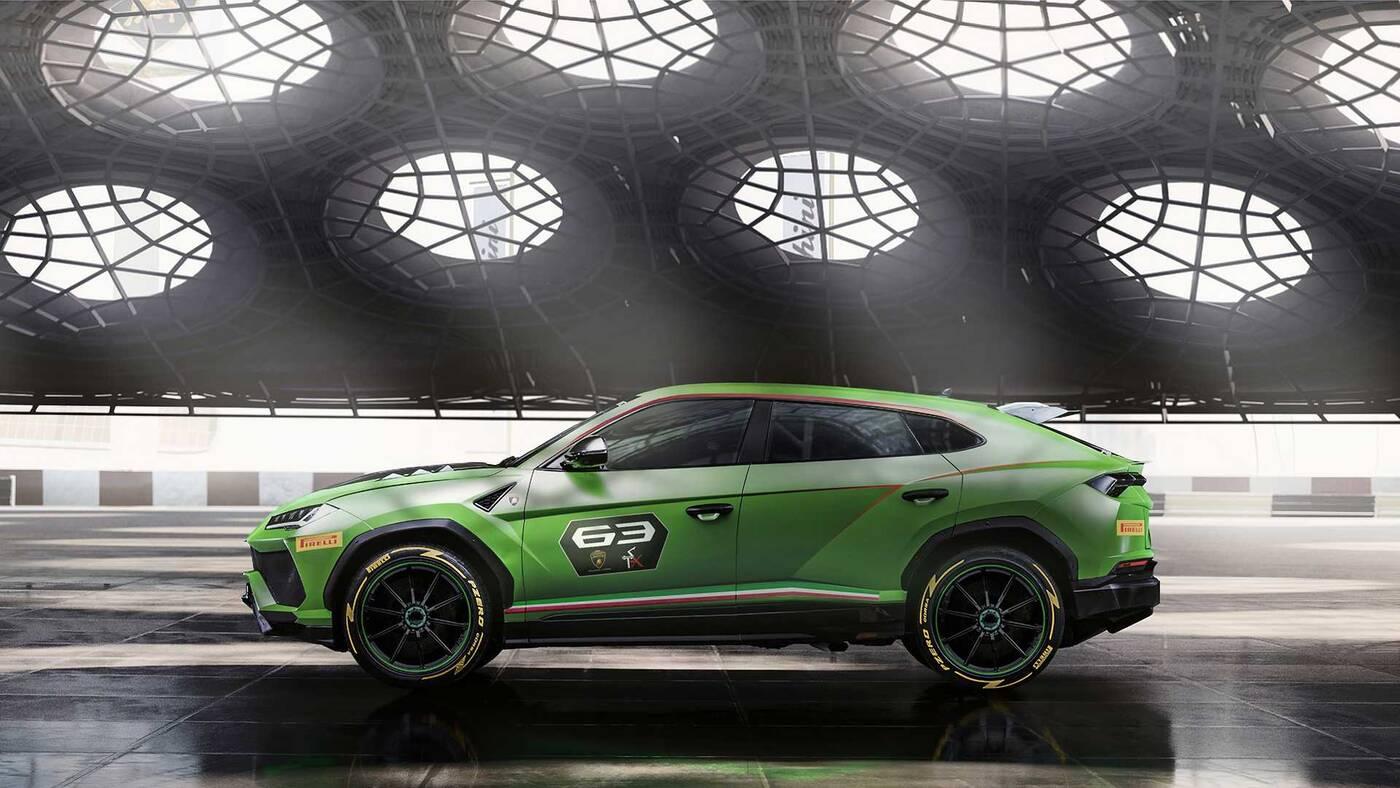 Lamborghini Urus ST-X, Urus ST-X, premiera Urus ST-X, wyścigowy Urus