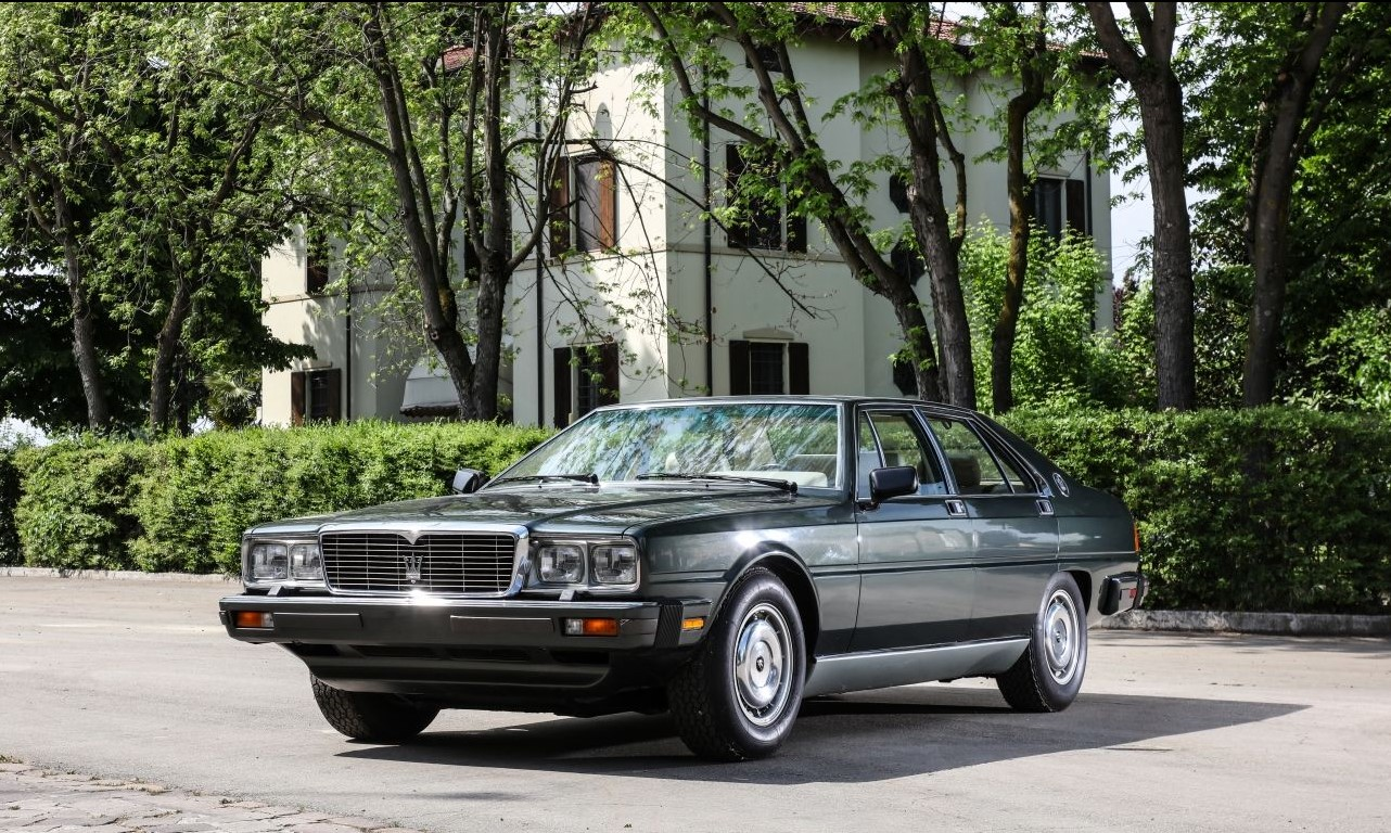 Maserati Quattroporte, służba Quattroporte, Maserati Quattroporte dla prezydentów, włoscy prezydenci Quattroporte
