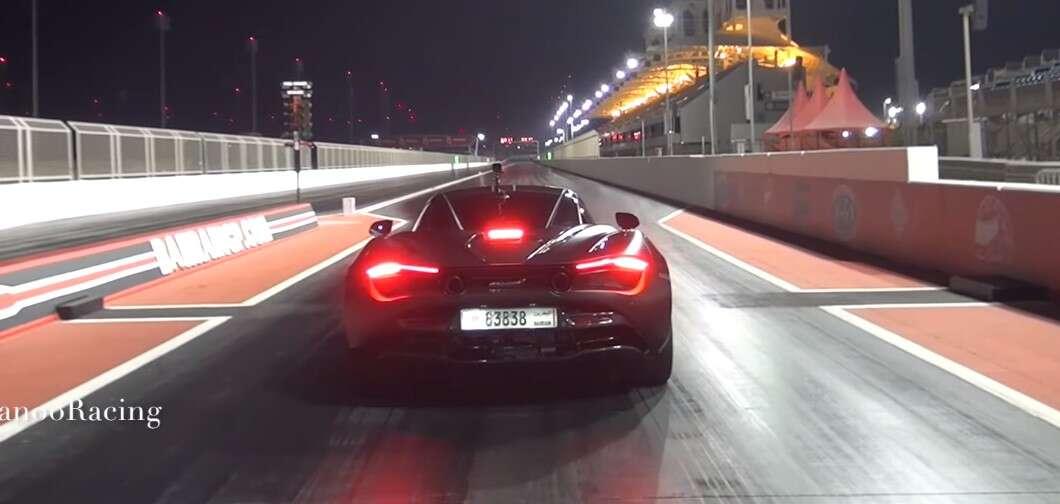 McLaren 720S z nowym rekordem na 1/4 mili