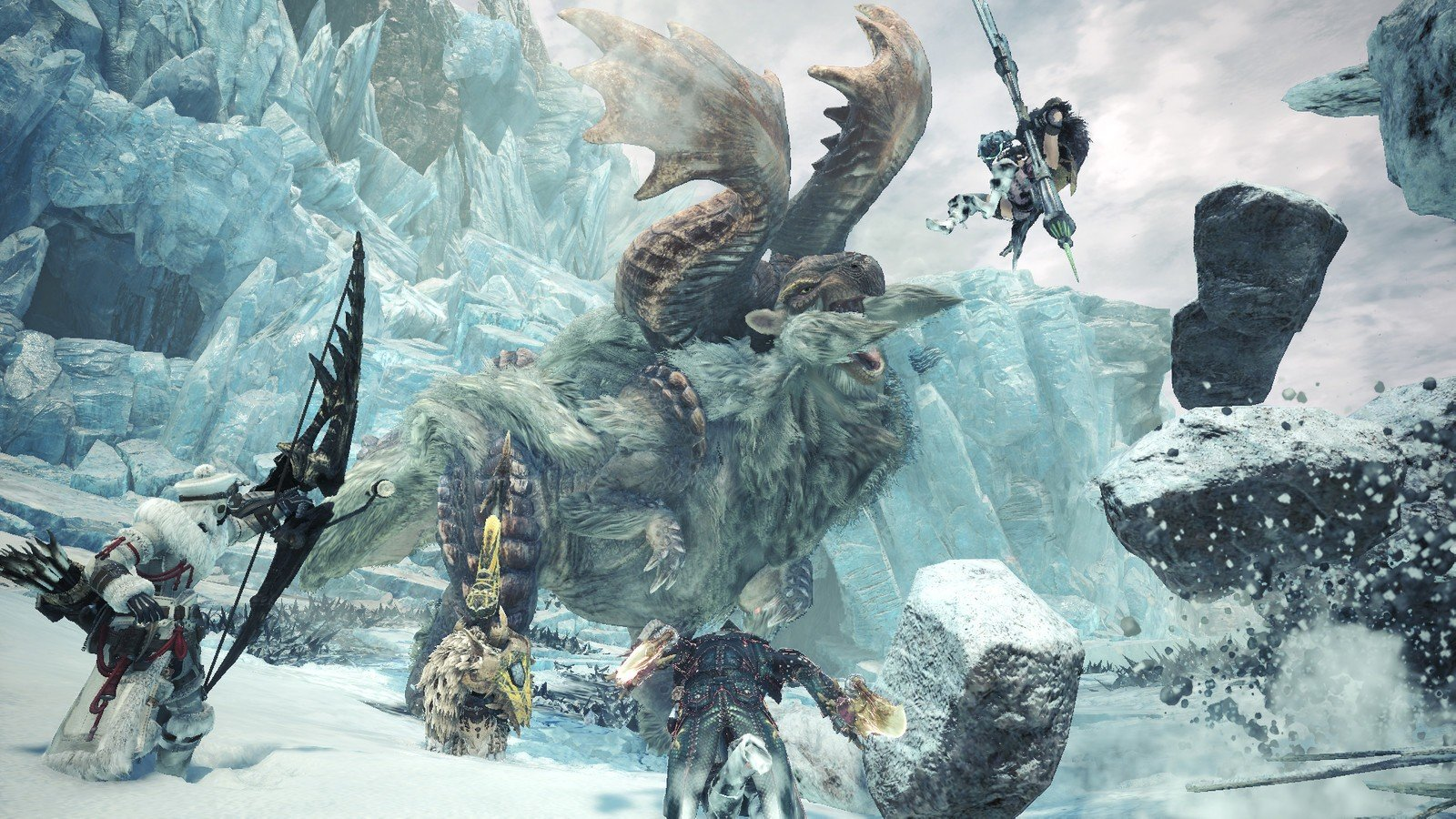 Monster Hunter World: Iceborne usuwa stare zapisy