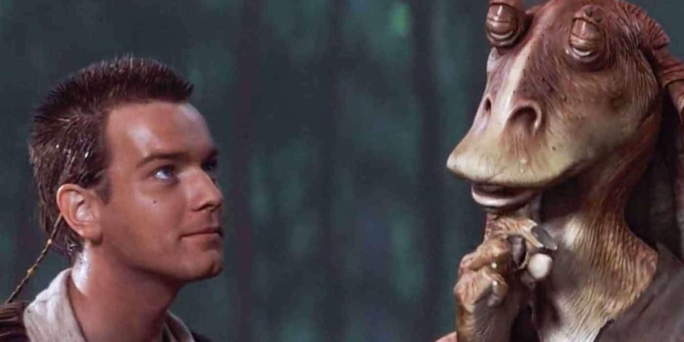 Jar Jar Binks w serialu o Obi Wanie, Star Wars: Obi Wan Kenobi, Jar Jar Binks powrót, Jar Jar Binks, Disney +, serial Star Wars: Obi Wan Kenobi, seriale Star Wars, Gwiezdne Wojny seriale