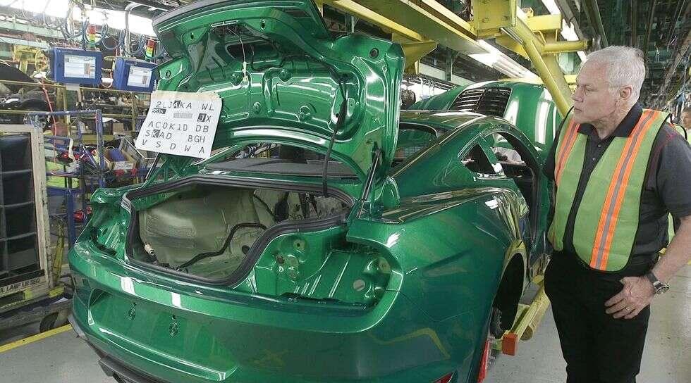 Ford Mustang Shelby GT500 2020, Shelby GT500 2020, pierwszy GT500 2020, wyjątkowy GT500