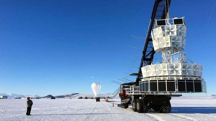 Tajemnicze cząsteczki z Antarktydy przeciwstawiają się prawom fizyki