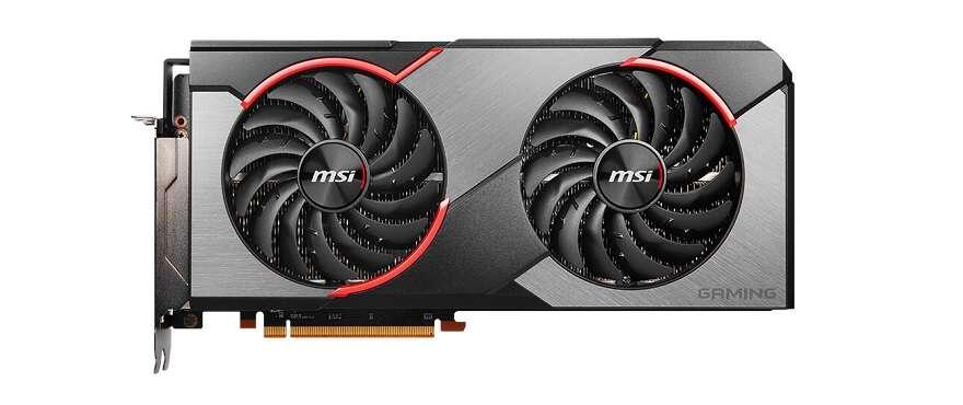 Radeon RX 5700 XT Gaming X, wygląd Radeon RX 5700 XT Gaming X design Radeon RX 5700 XT Gaming X