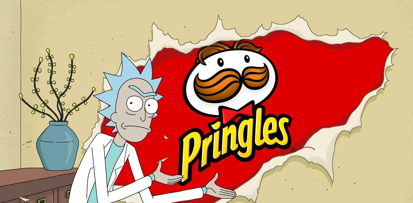 Rick i Morty w reklamie Pringles