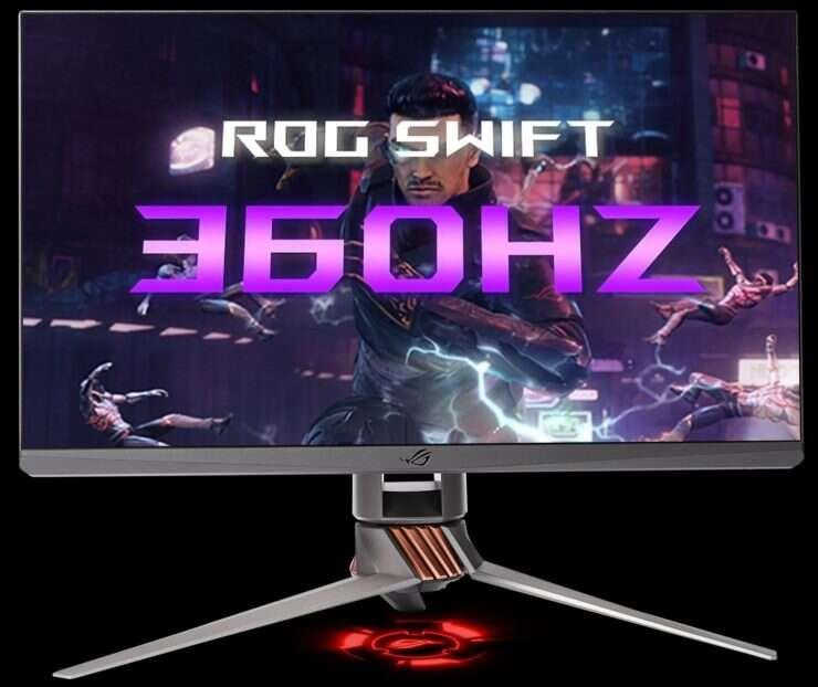 Asus i Nvidia zaprezentowały pierwszy monitor 360 Hz
