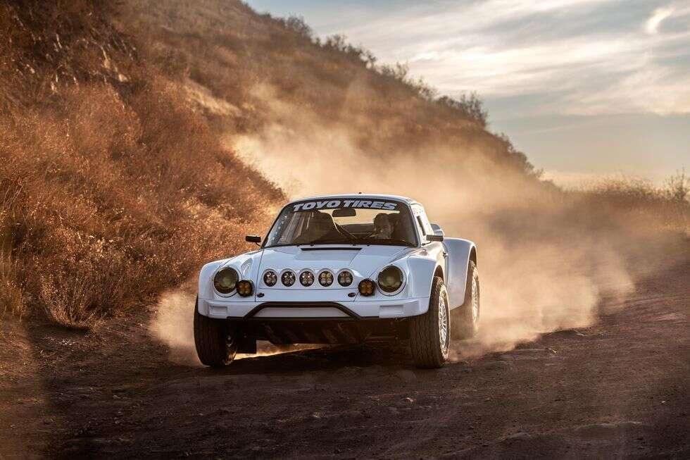 Russell Built 911, terenowe Porsche, Porsche 911 do terenu, off-roadowe porsche
