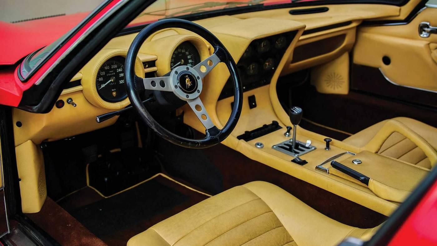 Lamborghini Miura SV, Miura SV, Miura SV 1971, sprzedaż Miura