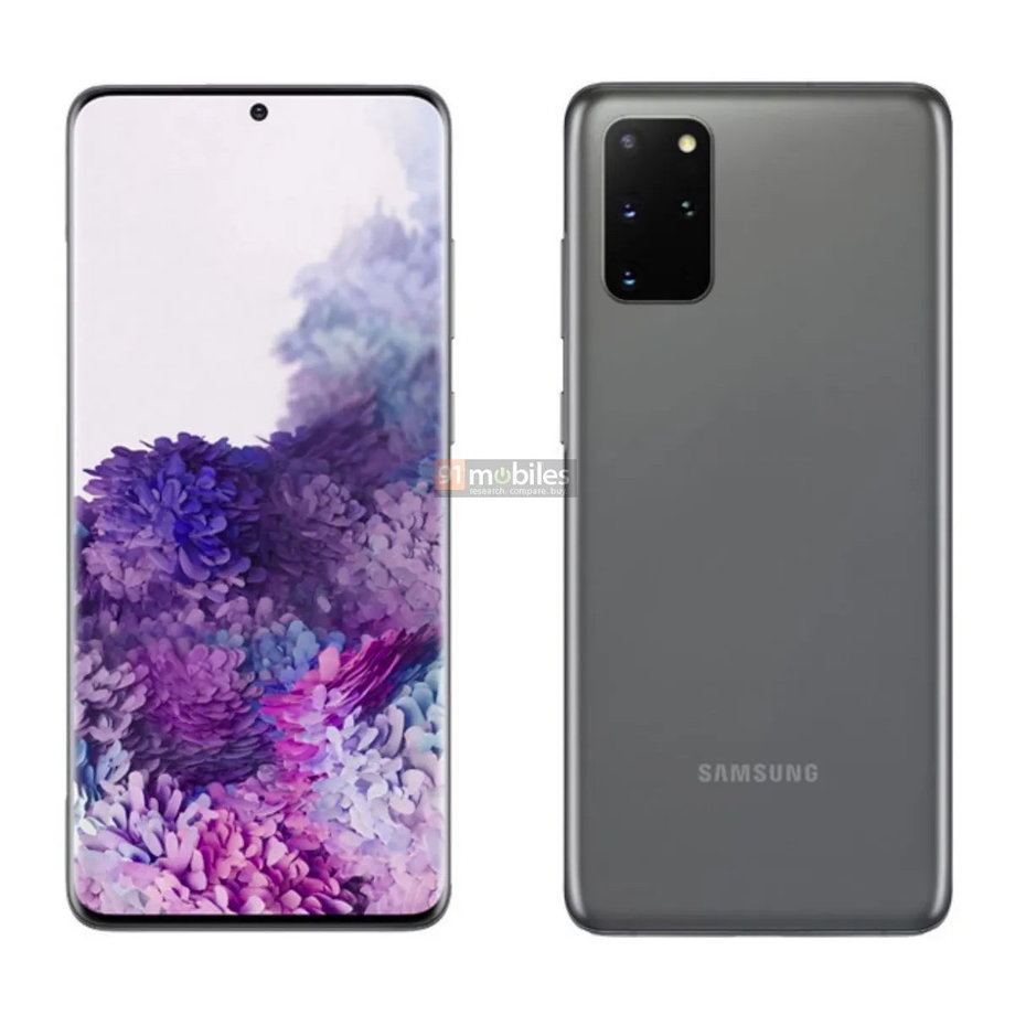 Samsung Galaxy S20+ szary