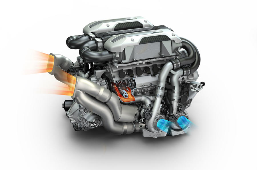 W16 Bugatti, W16, silnik W16, silnik Bugatti