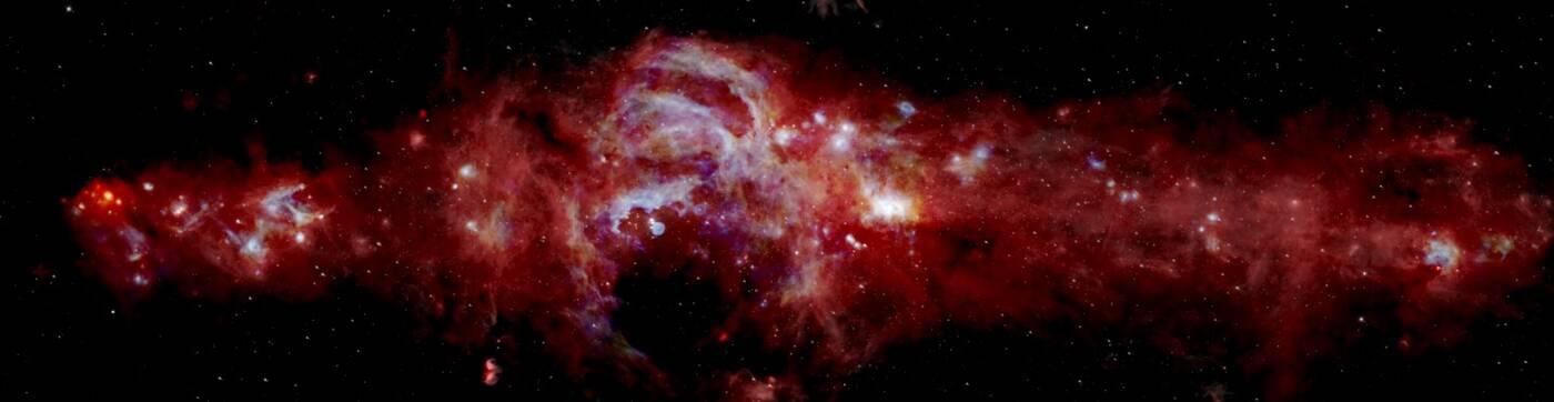 centrum galaktyki, centrum Drogi Mlecznej, wyjątkowe zdjęcia wszechświata, Droga Mleczna
