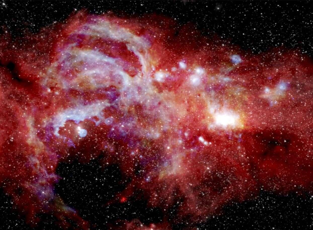 Spójrzcie na wyjątkowo szczegółowe zdjęcie centrum galaktyki