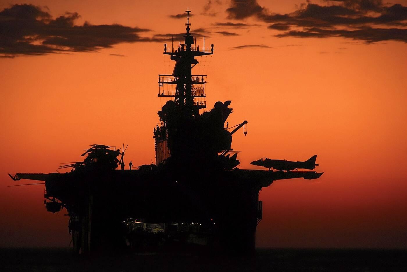 10 największych okrętów wojennych