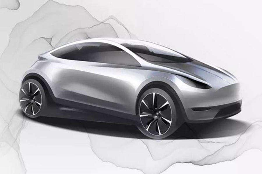 """""""Baby"""" Tesla czyli nowy hatchback z myślą o Chińskim rynku"""