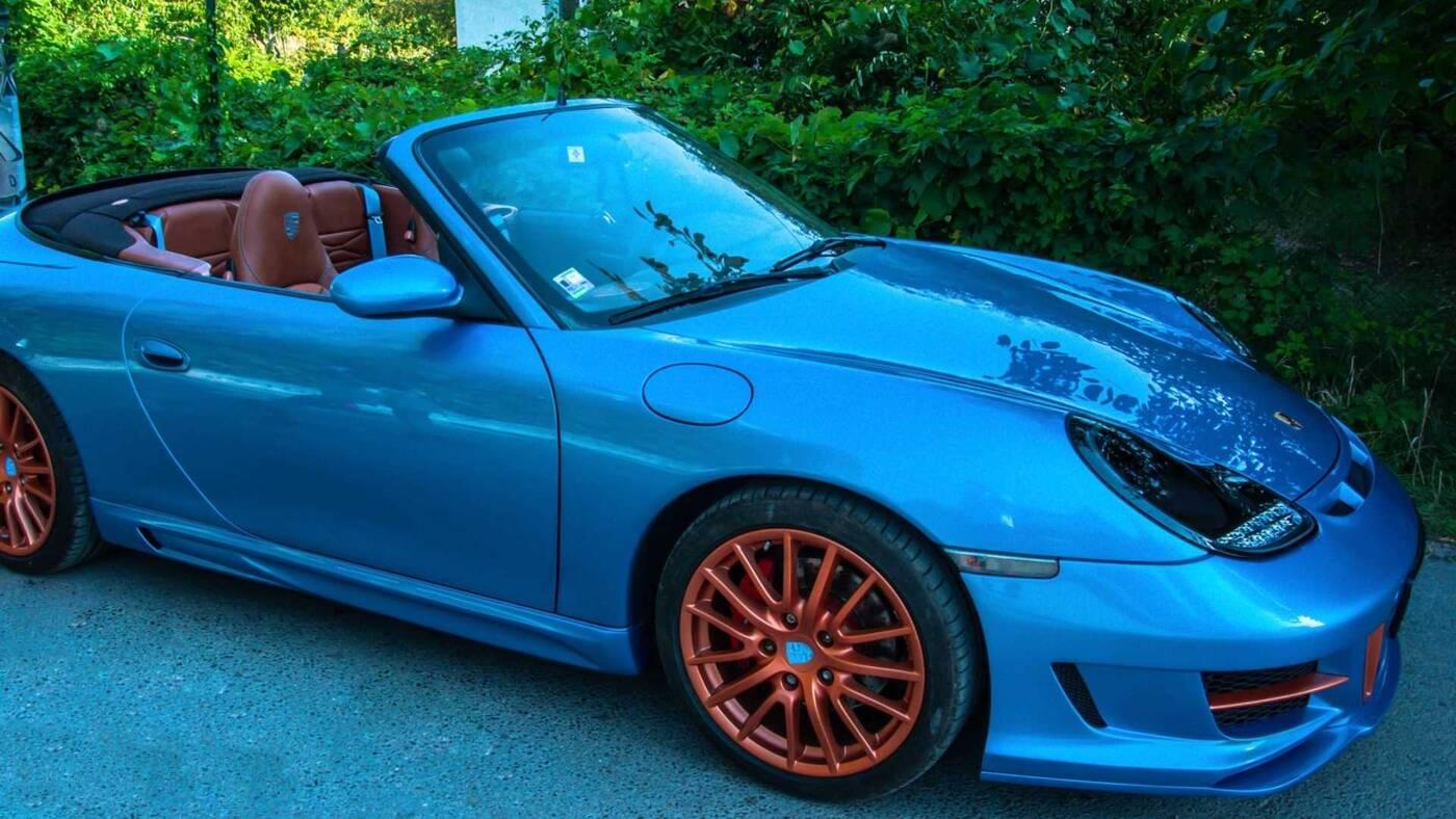 Porsche 911, wyjątkowe Porsche 911, Porsche 911 996, Porsche 911 Vilner