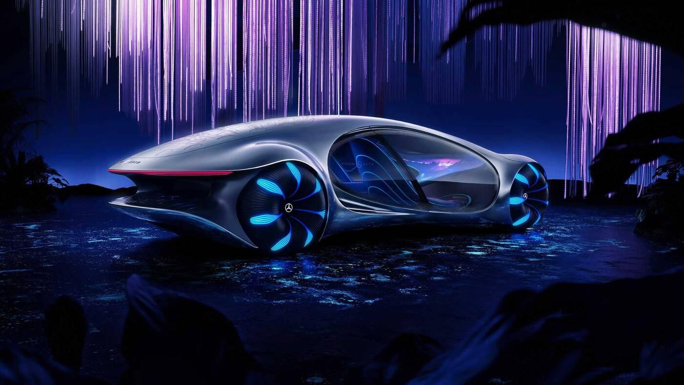 Vision AVTR, Mercedes Vision AVTR, koncept Mercedesa, samochód Avatar
