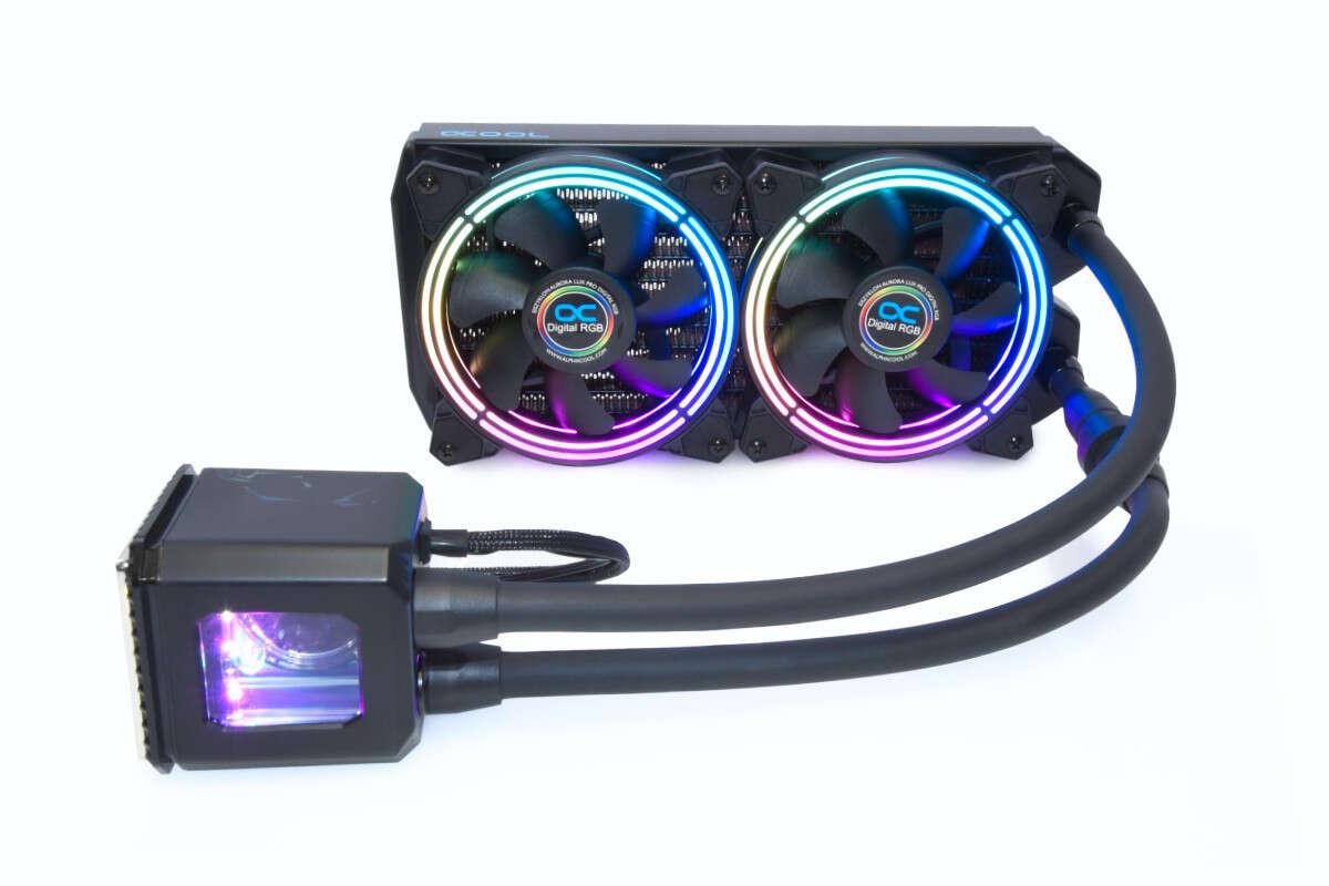 Test chłodzenia Alphacool Eisbaer Aurora 240 CPU