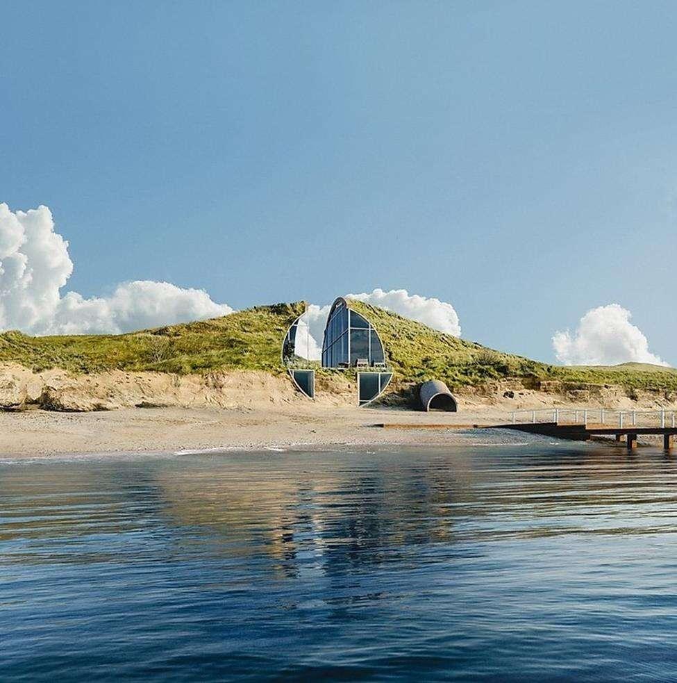 Dune House, czyli mieszkanie dla Hobbitów XXI wieku