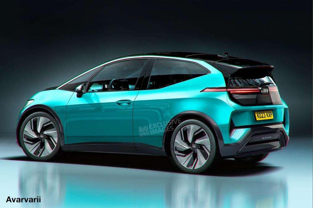 supermini premium, Audi supermini, elektryczne Audi, Audi EV