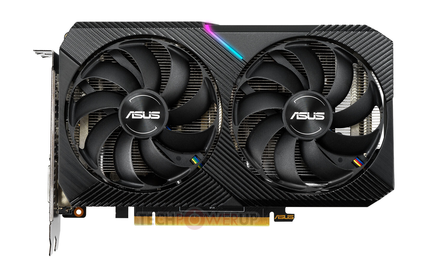 design GeForce RTX 2060 DUAL Mini, wygląd GeForce RTX 2060 DUAL Mini, karta GeForce RTX 2060 DUAL Mini
