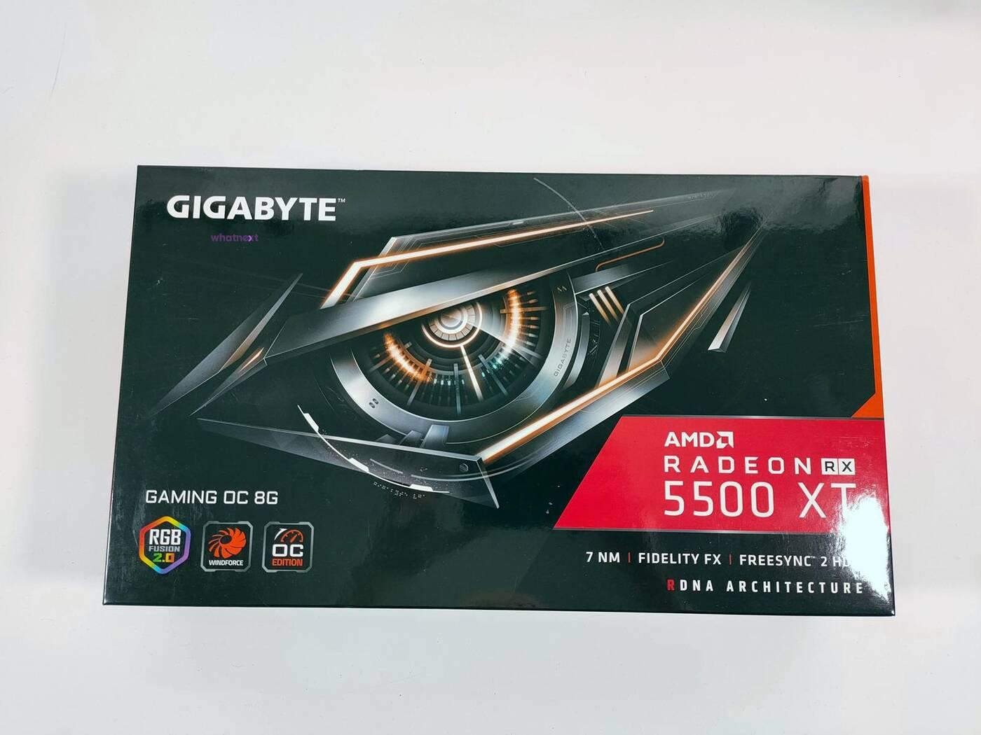 test Gigabyte Radeon RX 5500 XT Gaming OC 8G, recenzja Gigabyte Radeon RX 5500 XT Gaming OC 8G, review Gigabyte Radeon RX 5500 XT Gaming OC 8G, opinia Gigabyte Radeon RX 5500 XT Gaming OC 8G