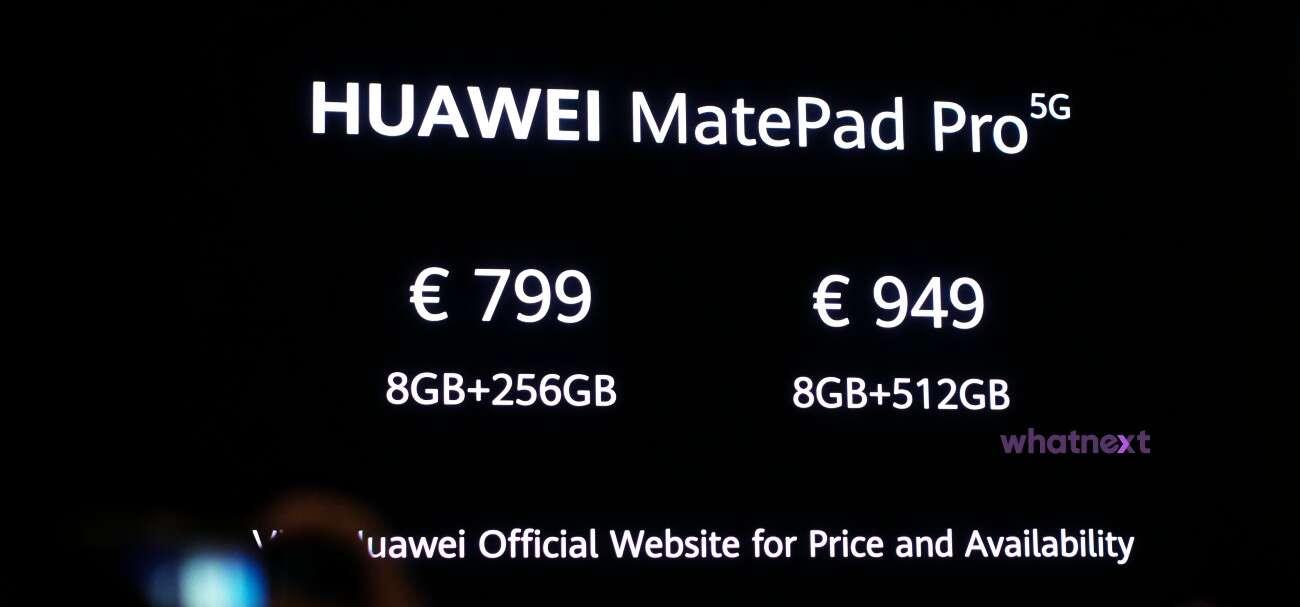 Huawei MatePad Pro 5G tablet
